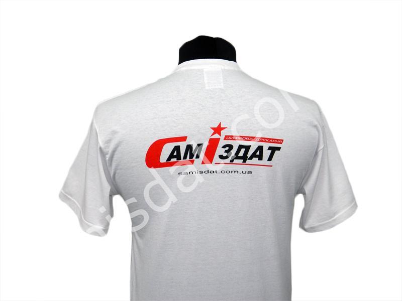 Нанисение логотипов на футболки